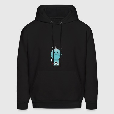 Adorable Canada - Narwhal - Men's Hoodie