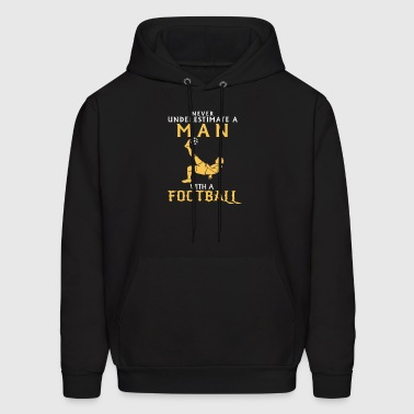 AUSTRALIA FOOTBALL MAN FOOTBALL PLAYER FUNNY GIFT - Men's Hoodie