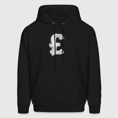 Currency, pound - Men's Hoodie