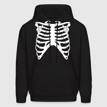 Rib Cage Front - Men's Hoodie