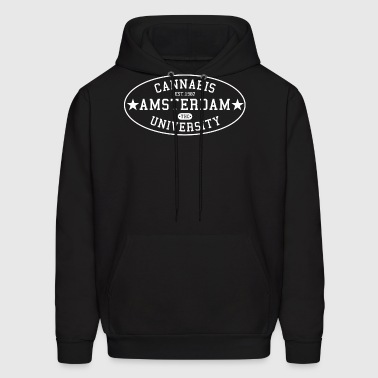 Cannabis University of Amsterdam - Men's Hoodie