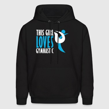 This Girl Love Gymnastic T Shirt - Men's Hoodie