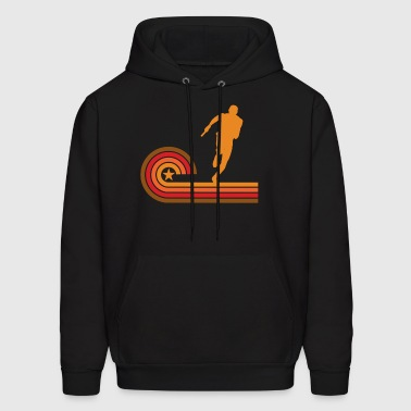 Retro Style Relay Race Runner Vintage Track - Men's Hoodie