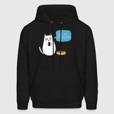 cute kawaii cat - Men's Hoodie