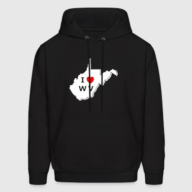 West Virginia Tee Shirt - Men's Hoodie