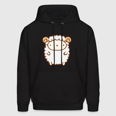 Cute Sheep - Men's Hoodie