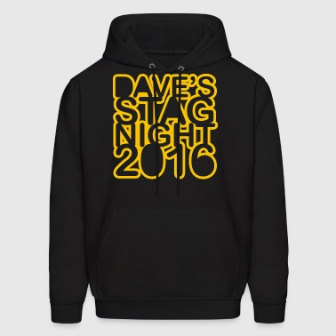 Stag Do Stag Night - Men's Hoodie