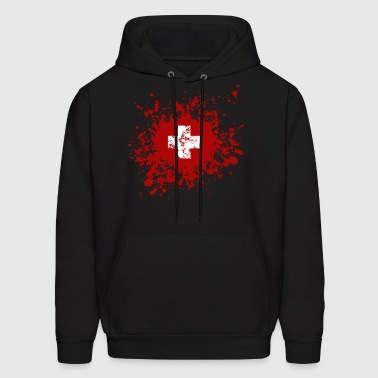 Switzerland - Helvetia - Men's Hoodie