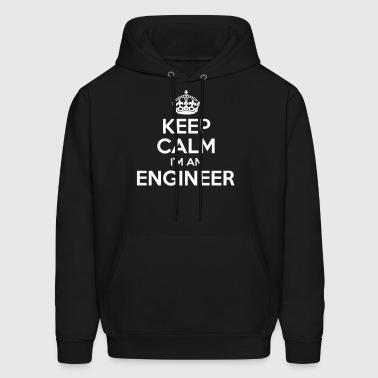 Keep Calm I'm A Logger Mens Hoodie