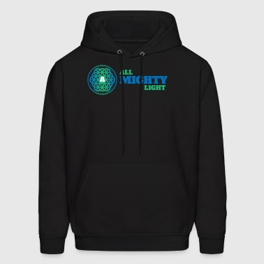 ALL MIGHTY LIGHT - Men's Hoodie