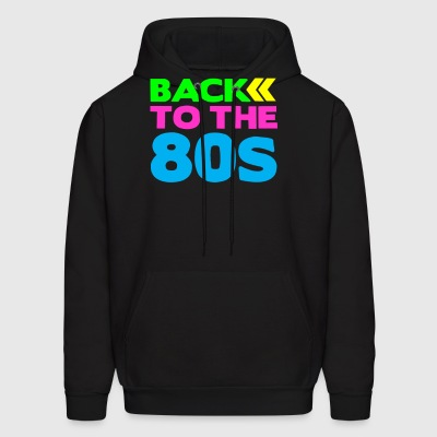 TO THE 80s BACK - Men's Hoodie