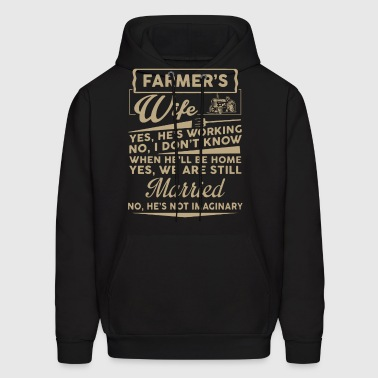 Farmer Wife Shirt - Men's Hoodie