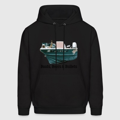 Boat and Bullets - Men's Hoodie