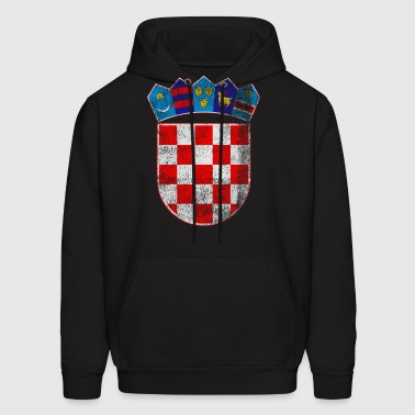 Croatian Coat of Arms Croatia Symbol - Men's Hoodie