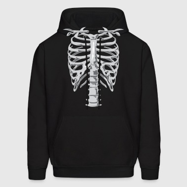Skeleton Costume - Men's Hoodie