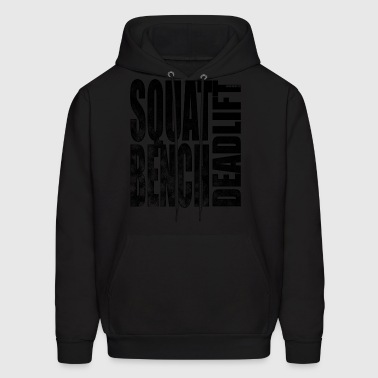 Squat Bench Deadlift 2 - Men's Hoodie