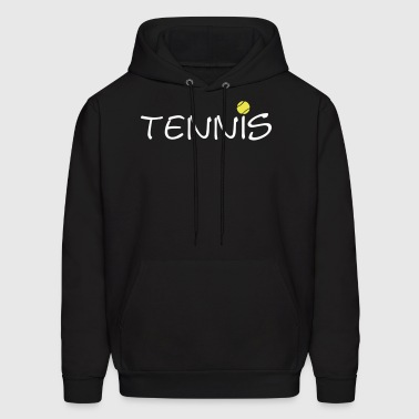 Tennis Ball Racket Court Game 2c - Men's Hoodie
