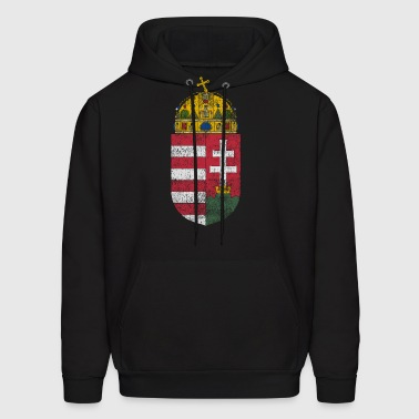 Hungarian Coat of Arms Hungary Symbol - Men's Hoodie