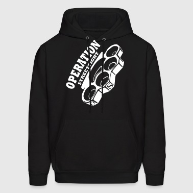 operation streetfight  Hools Hooligan Boxen Fight - Men's Hoodie