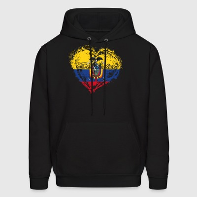 HOME ROOTS COUNTRY GIFT LOVE Ecuador - Men's Hoodie