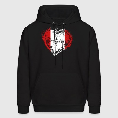 HOME ROOTS COUNTRY GIFT LOVE Peru - Men's Hoodie