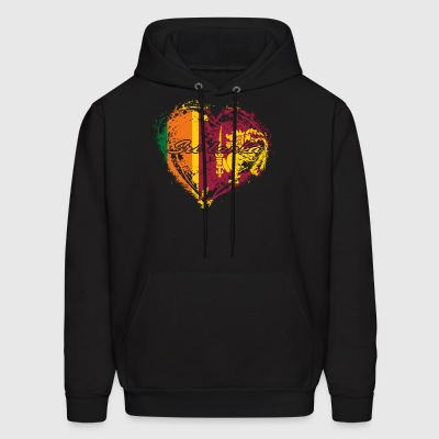 HOME ROOTS COUNTRY GIFT LOVE Sri lanka - Men's Hoodie