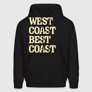 West Coast Best Coast - Men's Hoodie