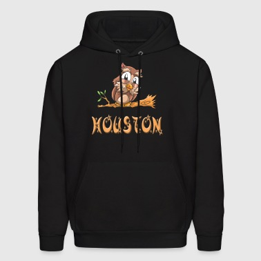 Houston Owl - Men's Hoodie