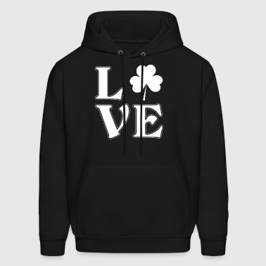 T-Shirt Shamrock - I love Ireland - Men's Hoodie