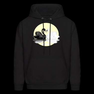 black and white - Men's Hoodie