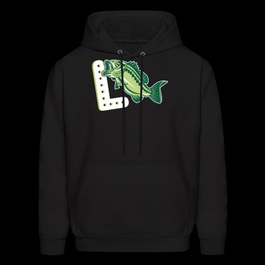 Largemouth Bass Shirt - Men's Hoodie