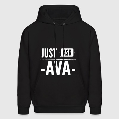 Just ask Ava - Men's Hoodie