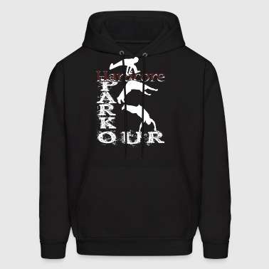 HARDCORE PARKOUR GRUNGE CITY SHIRT - Men's Hoodie
