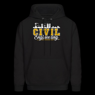 Civil Engineering Shirt - Men's Hoodie