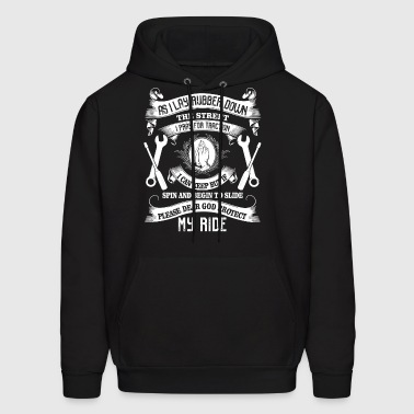 Please Dear God Protect My Ride T Shirt - Men's Hoodie