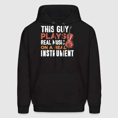 Plays Cello Shirt - Men's Hoodie