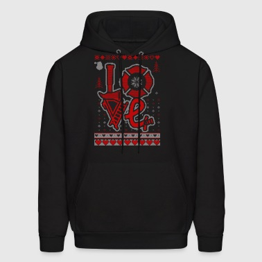 Ugly Fire Love Sweater firefighter - Men's Hoodie
