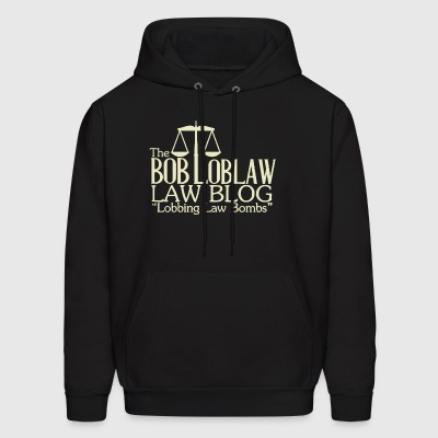 Arrested Development The Bob Loblaw Law Blog lobbi - Men's Hoodie