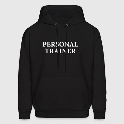 Personal Trainer Fitness exercise Gym Workout - Men's Hoodie
