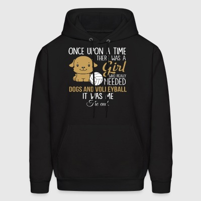 ONCE UPON A TIME THERE WAS A GIRL WHO REALLY NEEDE - Men's Hoodie
