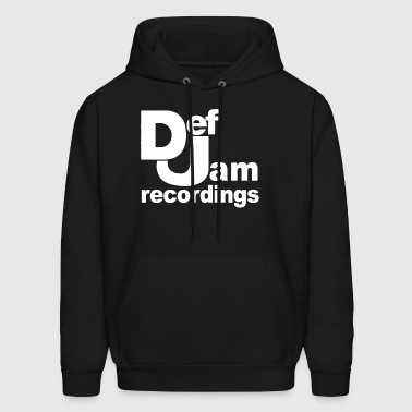 Def Jam Recordings Hip Hop classic music - Men's Hoodie