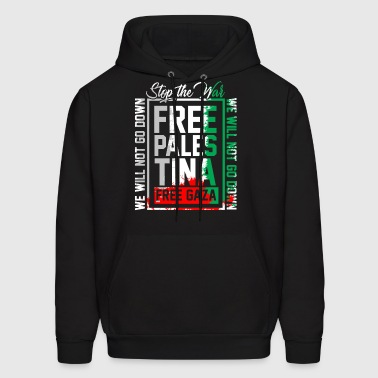 Free Palestina Free Gaza no war peace no blood - Men's Hoodie