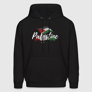 Palestine flag free gaza middle east gift - Men's Hoodie