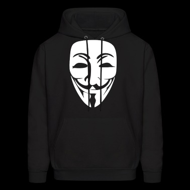VENDETTA FACE Printed Guy Fawkes Reli Swag Illumin - Men's Hoodie