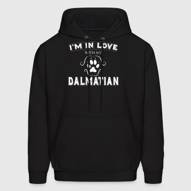 My Anti Valentine Love My Dalmatian Dog Lover - Men's Hoodie