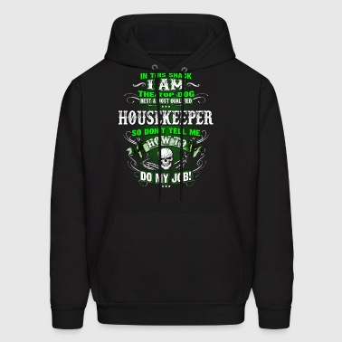 Housekeeper Shirts for Men, Job Shirt with Skull - Men's Hoodie