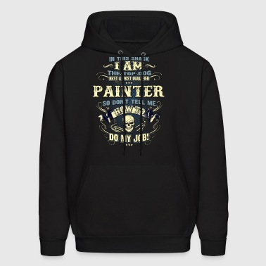 Painter Shirts for Men, Job Shirt with Skull - Men's Hoodie