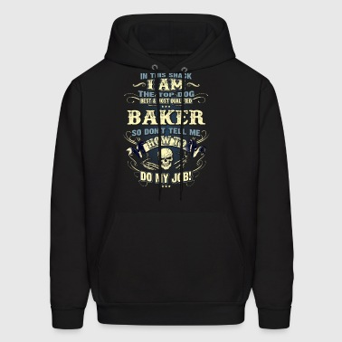 Baker Shirts for Men, Job Shirt with Skull - Men's Hoodie