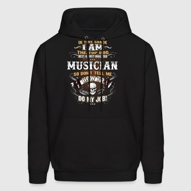 Musician Shirts for Men, Job Shirt with Skull - Men's Hoodie