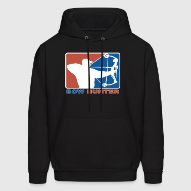 Bow Hunter Major League Bows and Arrow Hunting - Men's Hoodie